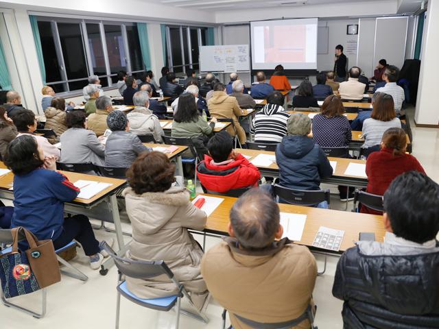 羽島で地域づくり勉強会 会場様子