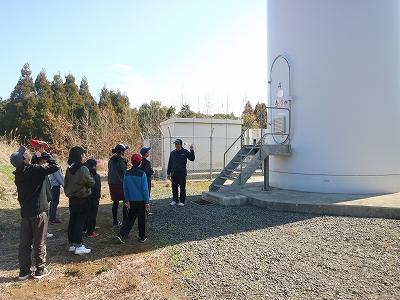 風力発電の説明